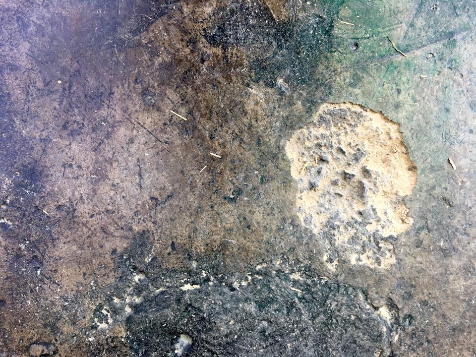 Concrete flooring texture. — in Maseru, Lesotho.
