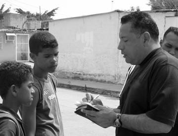 Sharing Christ on the streets of Barquisimeto