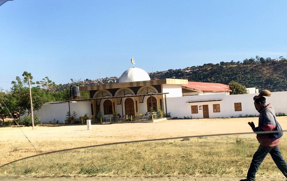 A mosque... pretty common site throughout Tanzania.