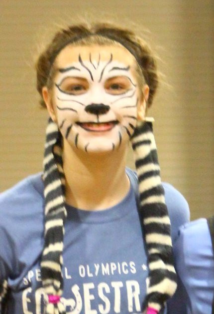 Remington as a Zebra for a Born2Be competition
