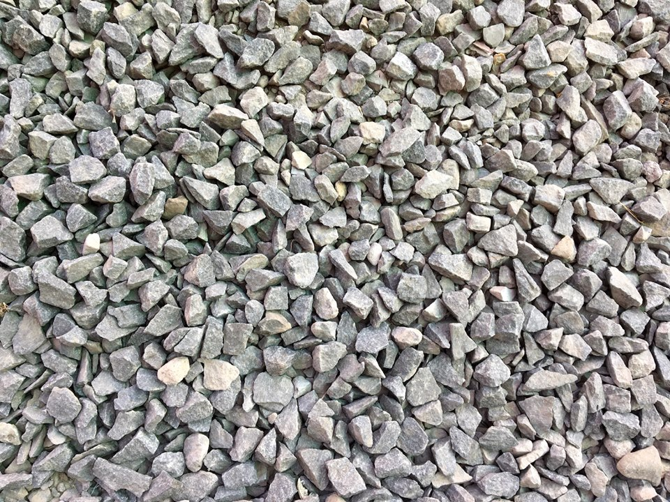 A Surface Texture example. Gravel from the parking lot. — in Maseru, Lesotho.