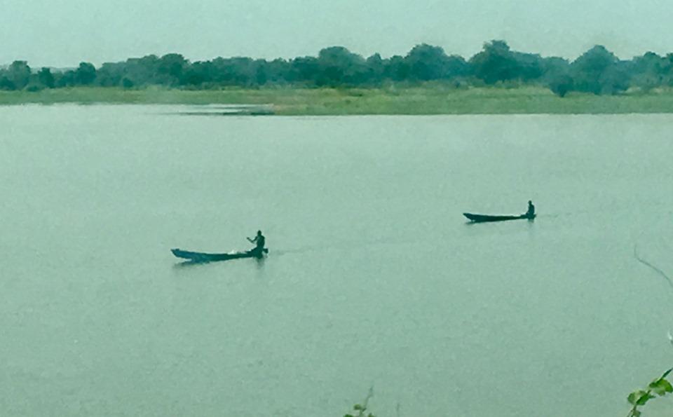 More fishermen in Tomo Reservoir