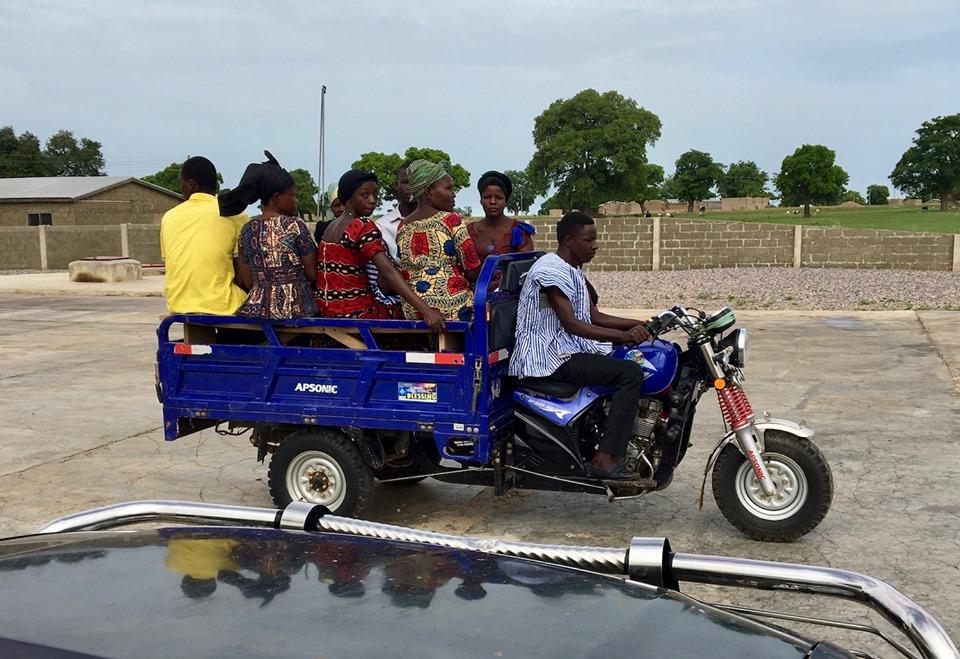 Rideshare, Ghana style! — in Navrongo.