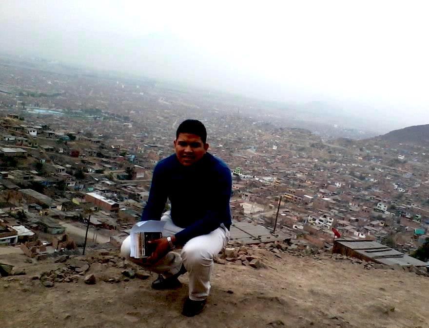 Overlooking Lima, Peru