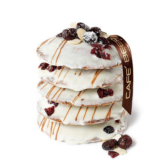 Nürnberger  Elisenlebkuchen mit Cranberrys und Kakaonibs 5 St.