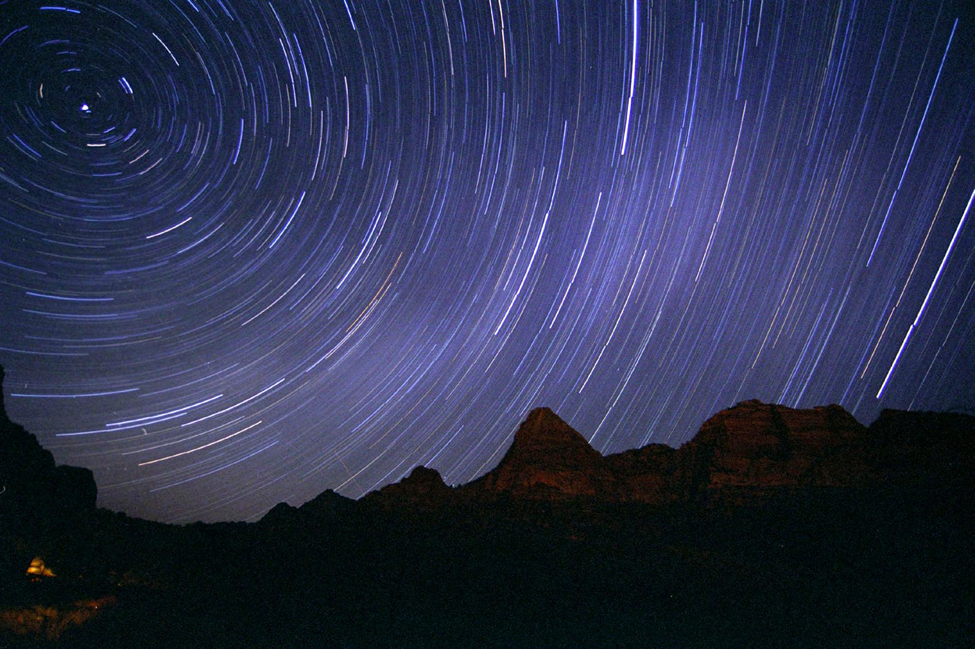Star Trails - Zion National Park