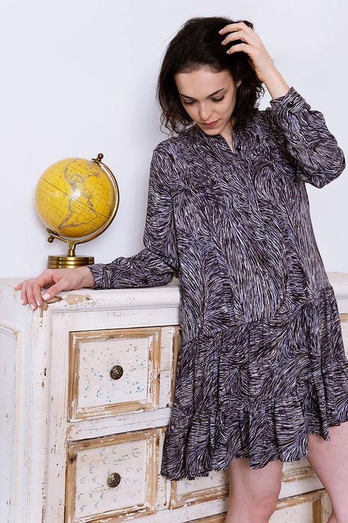 השמלת קורל- הדפס
