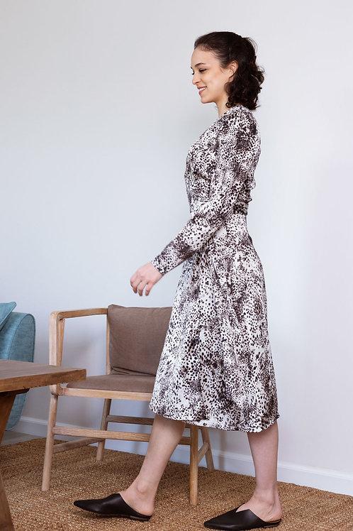 שמלת רומא - מנומר