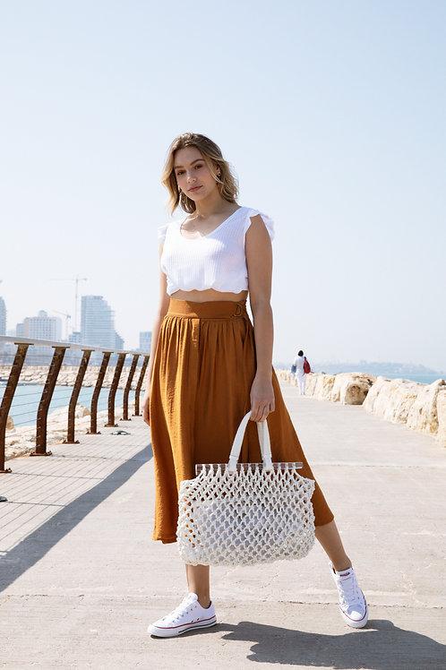 חצאית לורי - חמרה