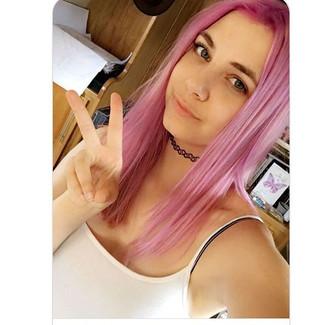 _ Hair by Kay _ #pinkhair #pinkhaircolor