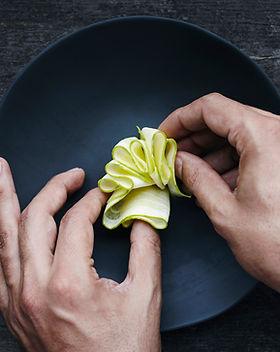 Foodstyling auf dem Teller