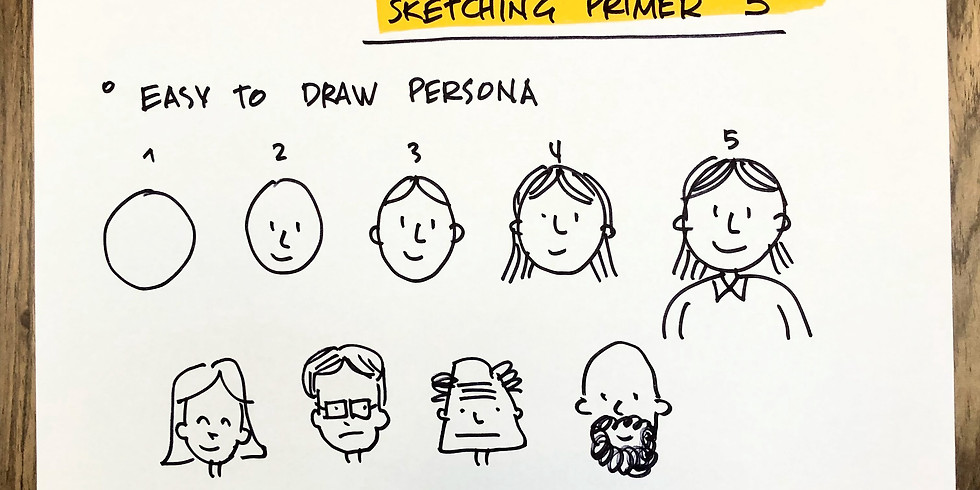 Design Thinking Practitioners Meetup: The power of working visual