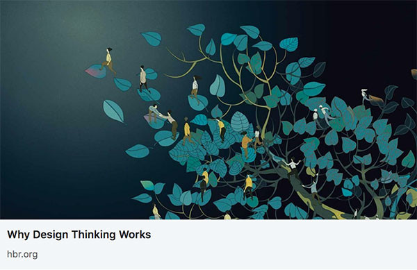 HBR Article: Why Design Thinking works