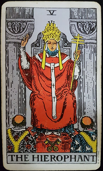 The Hierophant  lynsreadings.com