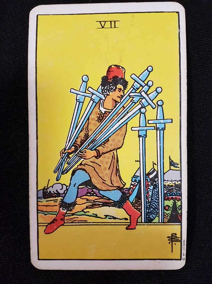 7 of Swords - lynsreadings.com