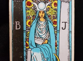 The High Priestess No 2 in the Major Arcana