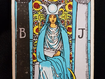 The High Priestess No 2 in the Major Arcana