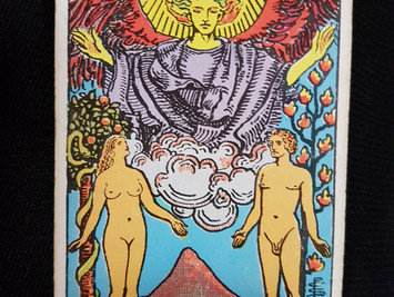 The Lovers Card No 6 in the Major Arcana
