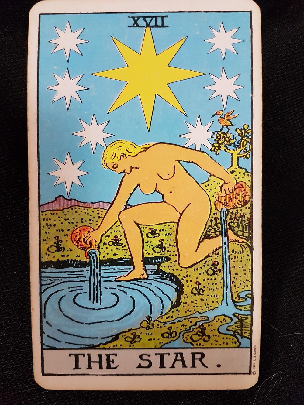 The Star Card 17 lynsreadings.com