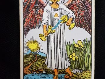 The Temperance Card No 14 in the Major Arcana
