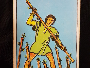 The 7 of Wands