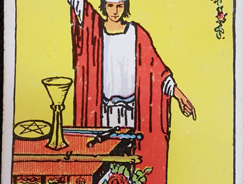 The Magician No 1 in the Major Arcana