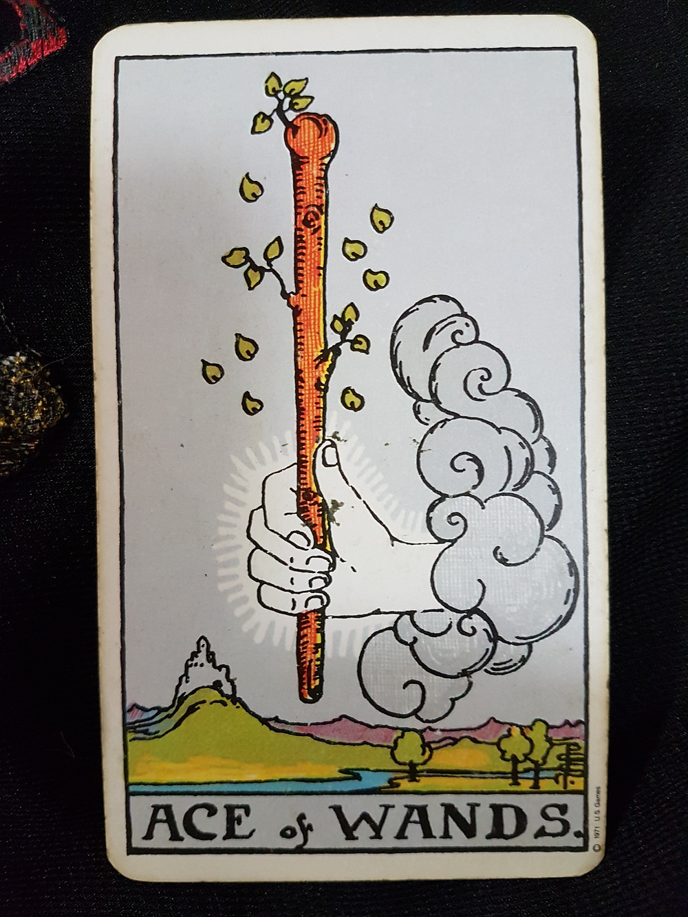 Ace of Wands - lynsreadings.com