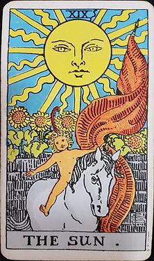 The Sun Card 19 lynsreadings.com