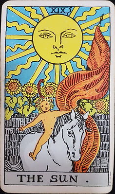 The Sun Card 19 lynsreadings.com