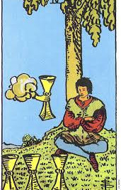 Meaning of the 4 of Cups