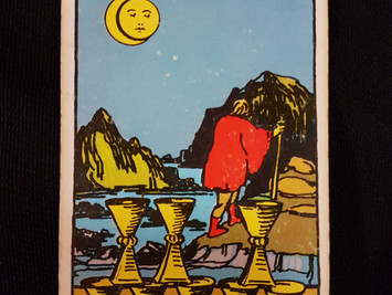 The 8 of Cups