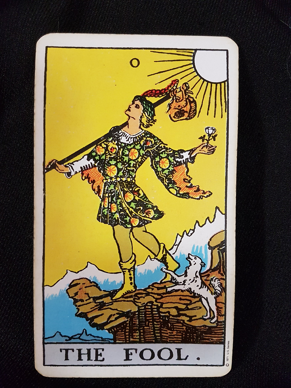 The Fool Card 0 - lynsreadings.com