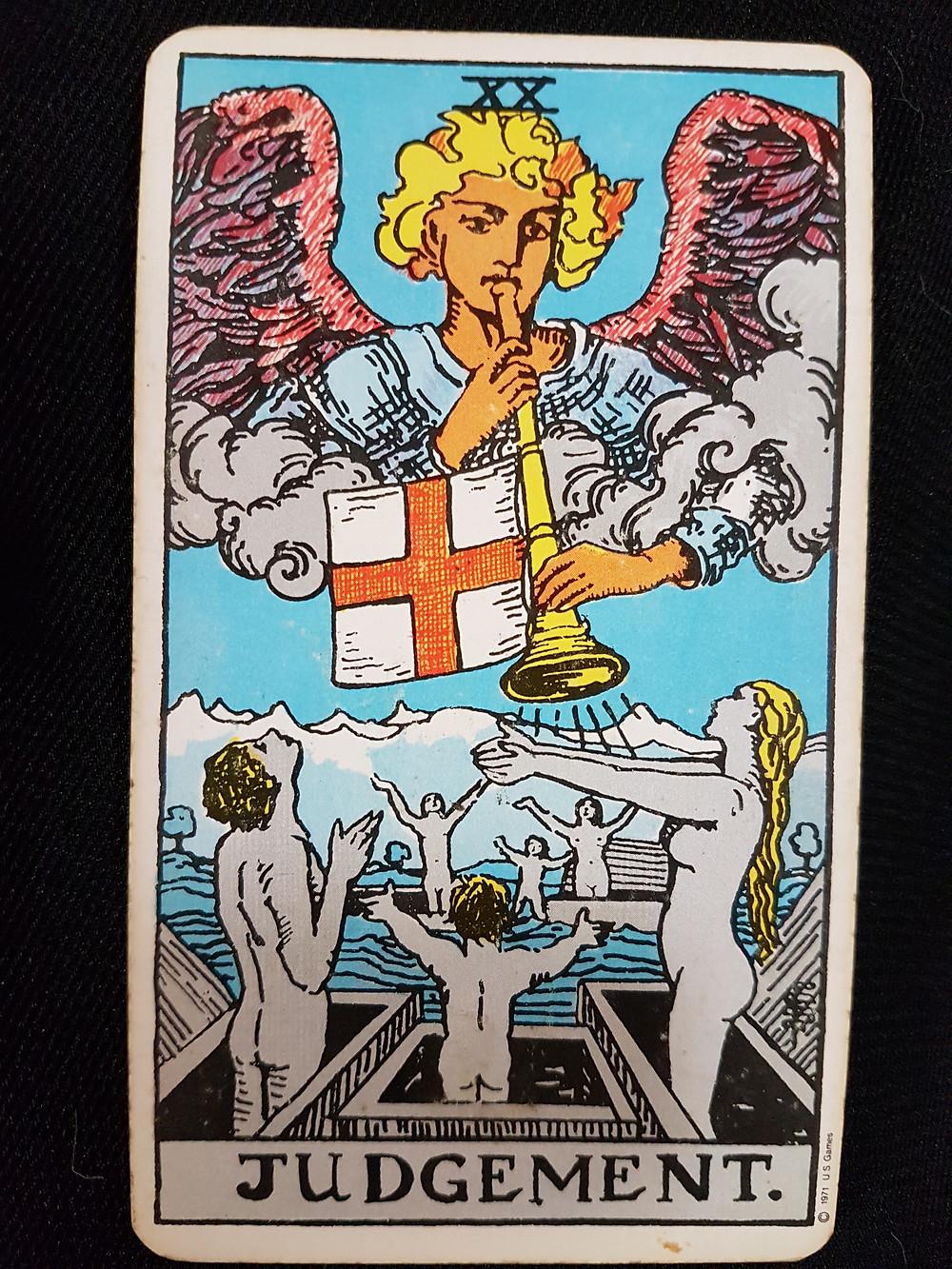 The Judgement Card No 20 | lynsreadings.com