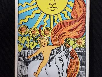 The Sun Card No 19