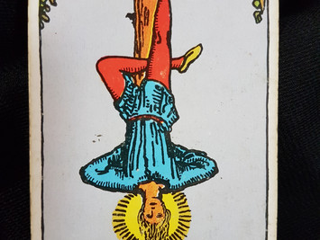 The Hanged Man No 12 in the Major Arcana