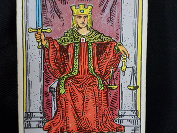 The Justice Card No 11 in the Major Arcana