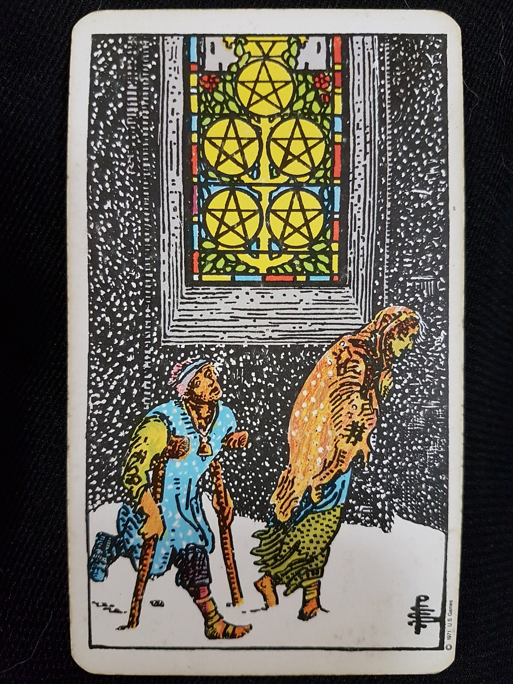 Five of Pentacles - lynsreadings.com