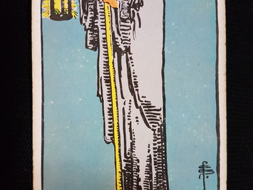 The Hermit No 9 in the Major Arcana