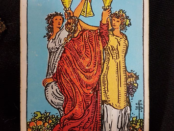 Meaning of the 3 of Cups