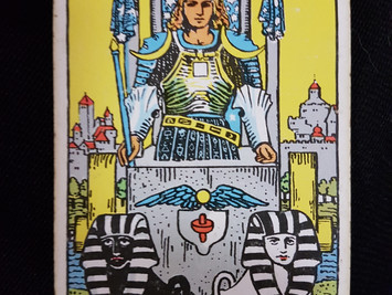 The Chariot No 7 in the Major Arcana