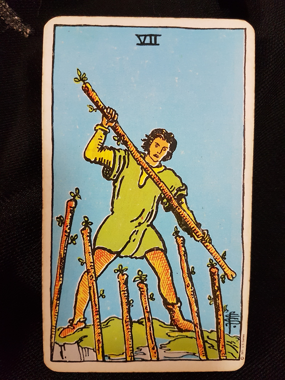 7 of Wands - lyns readings.com