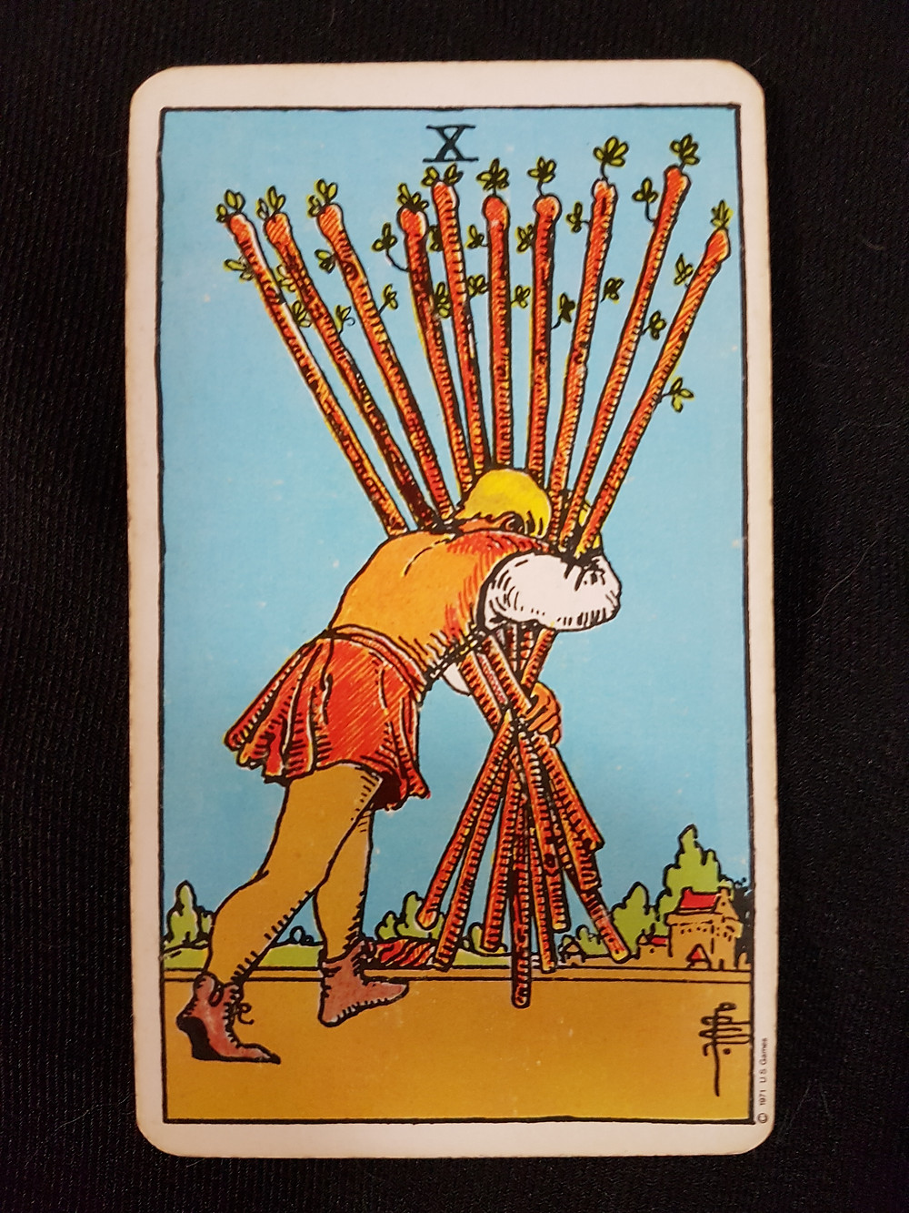 10 of Wands - lynsreadings.com