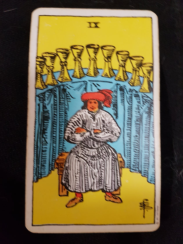 Meaning of The Nine of Cups