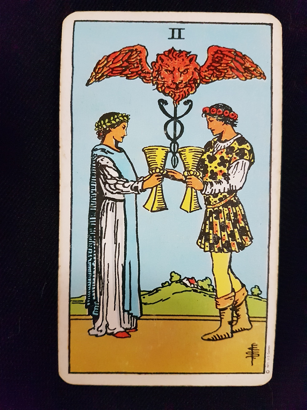 Two of Cups - lynsreadings.com
