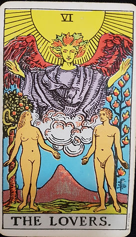 The Lovers Card 6