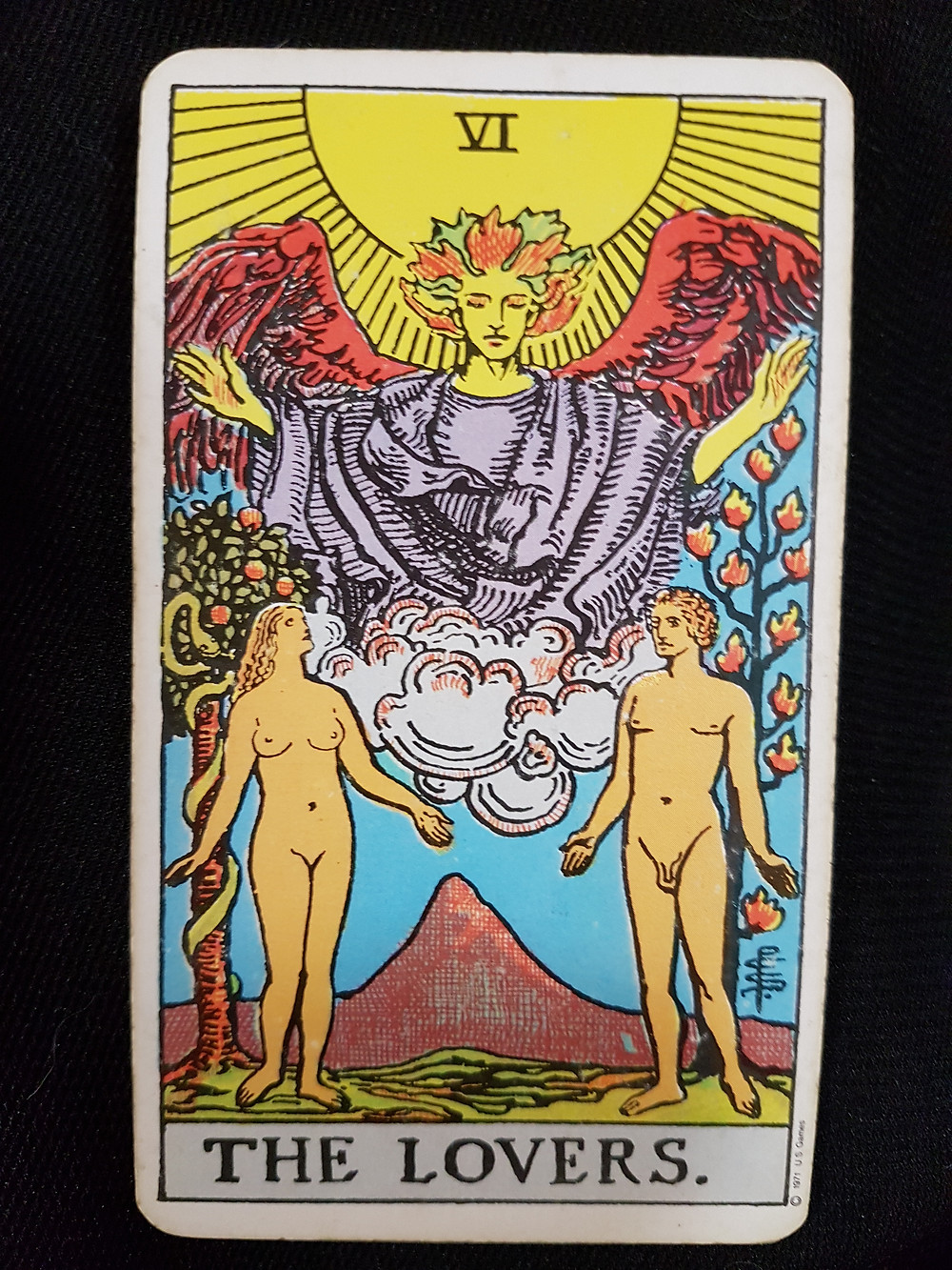 The Lovers Card No 6 - lynsreadings.com