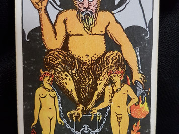 The Devil Care No 15 in the Major Arcana