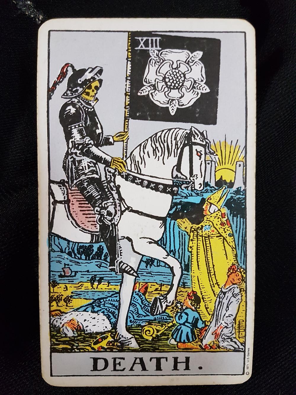 The Death Card XIII lynsreadings.com