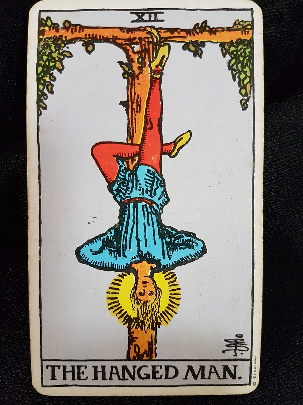 The Hanged Man No 12 | lynsreadings.com