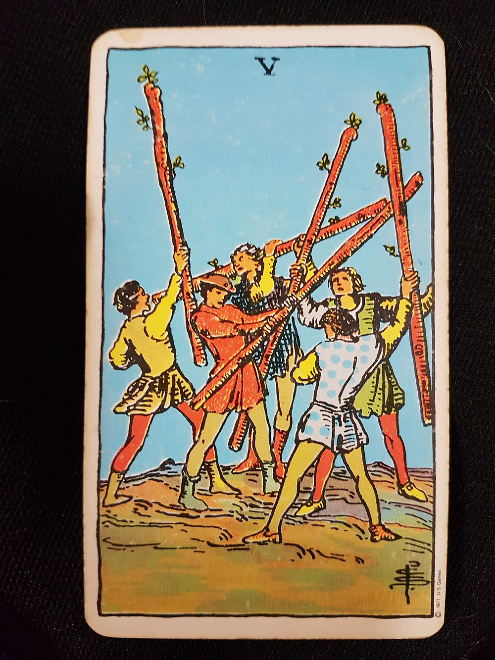 Five of Wands - lynsreadings.com